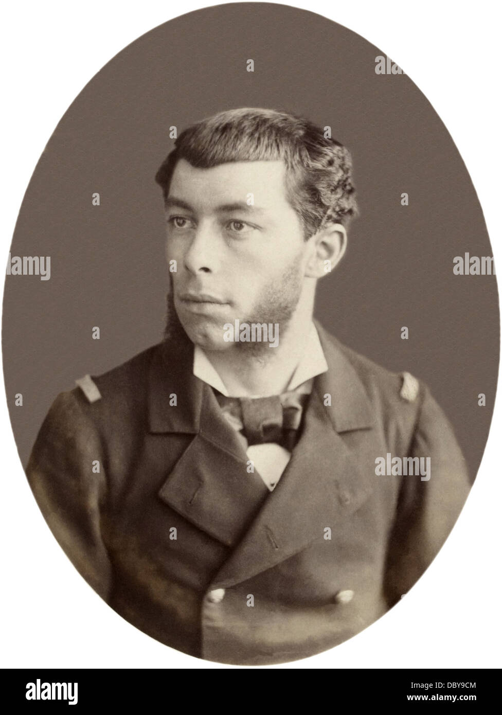 Antoine Mizon, (1853 - 1899), french navy officer, and colonial explorer. - Stock Image