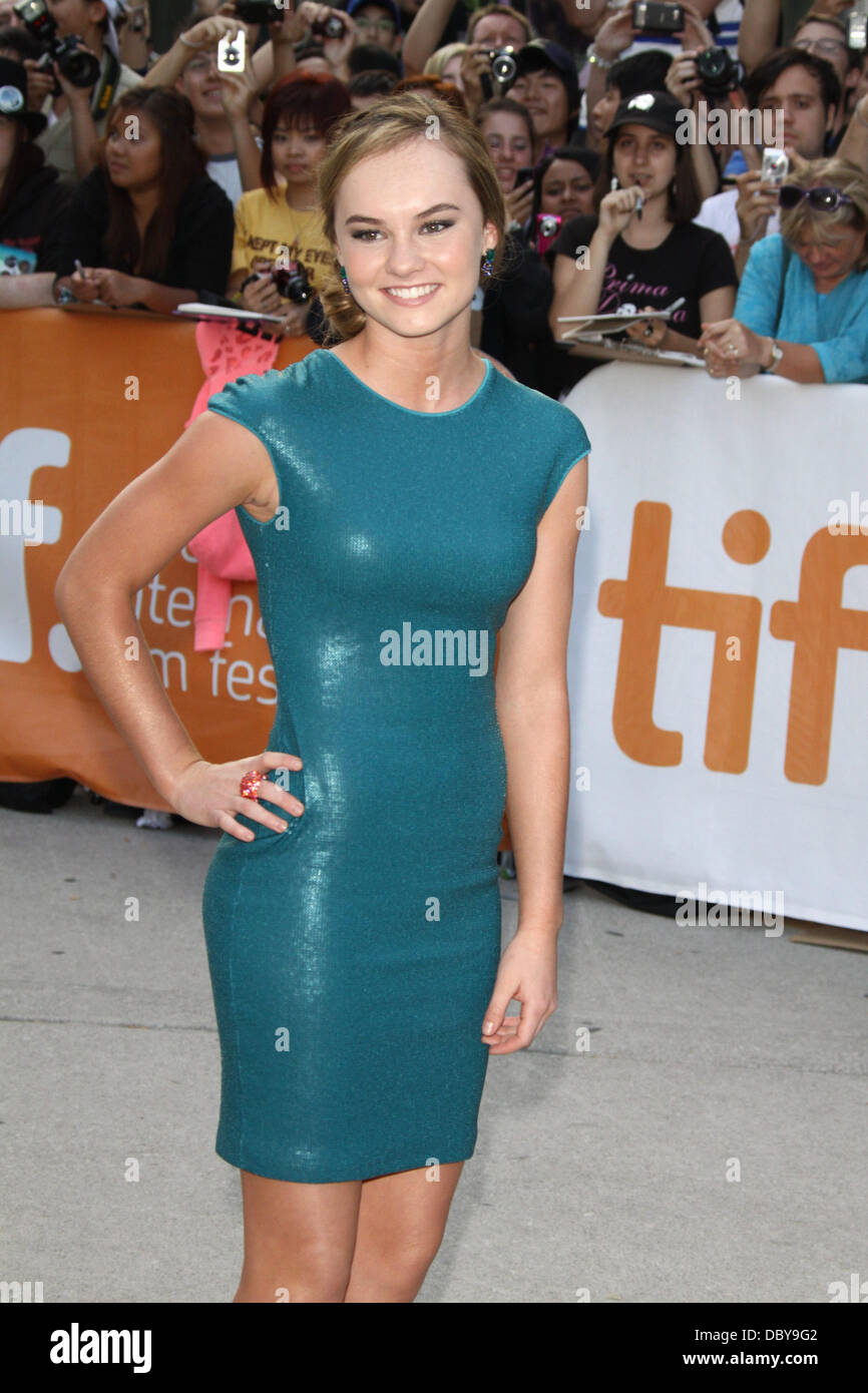 Madeline Carroll 36th Annual Toronto International Film Festival -  Machine  Gun Preacher  premiere arrival at the Roy Thomson Hall. Toronto f17027852fb0