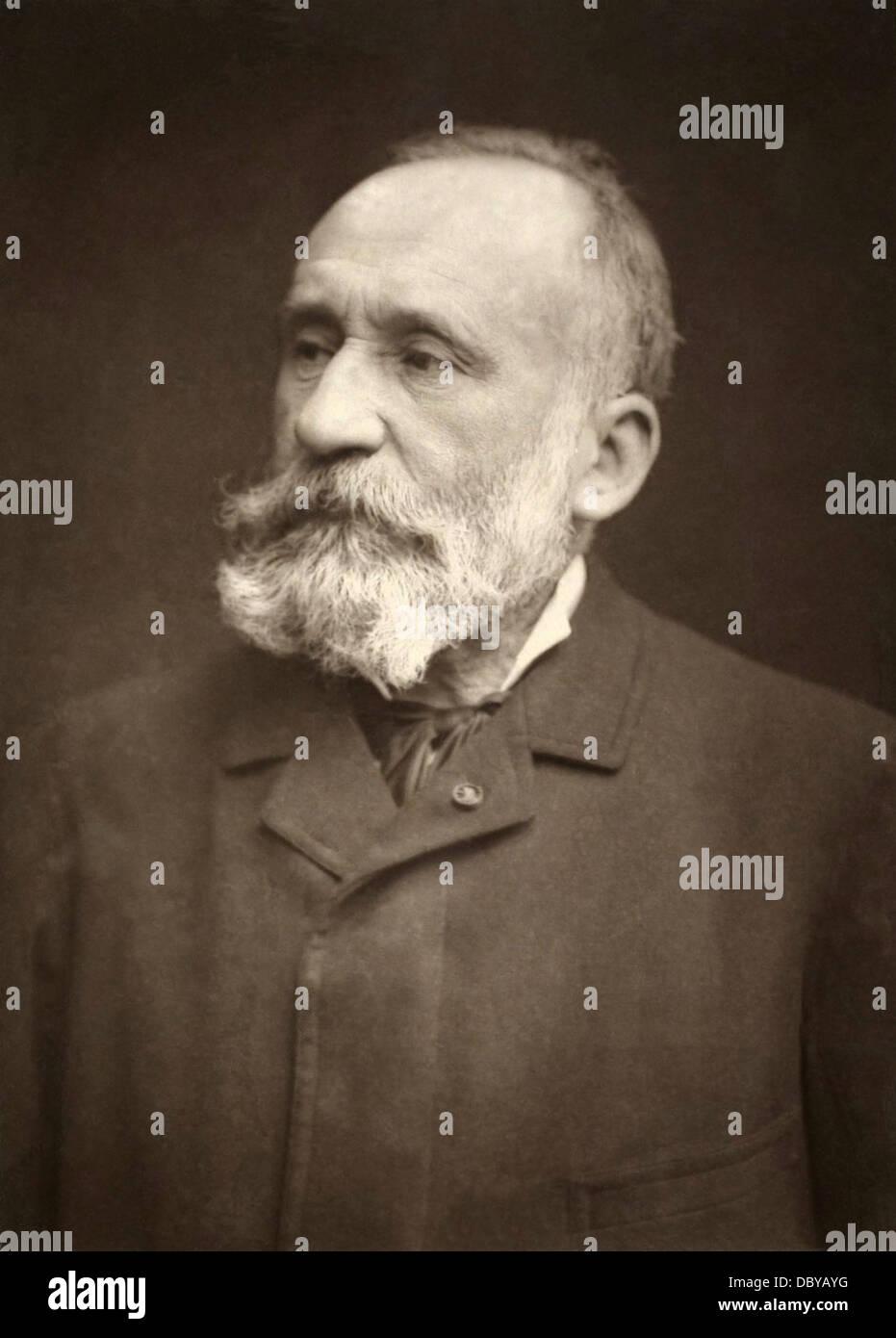 Pierre Puvis de Chavannes (1824 - 1898), french painter. - Stock Image