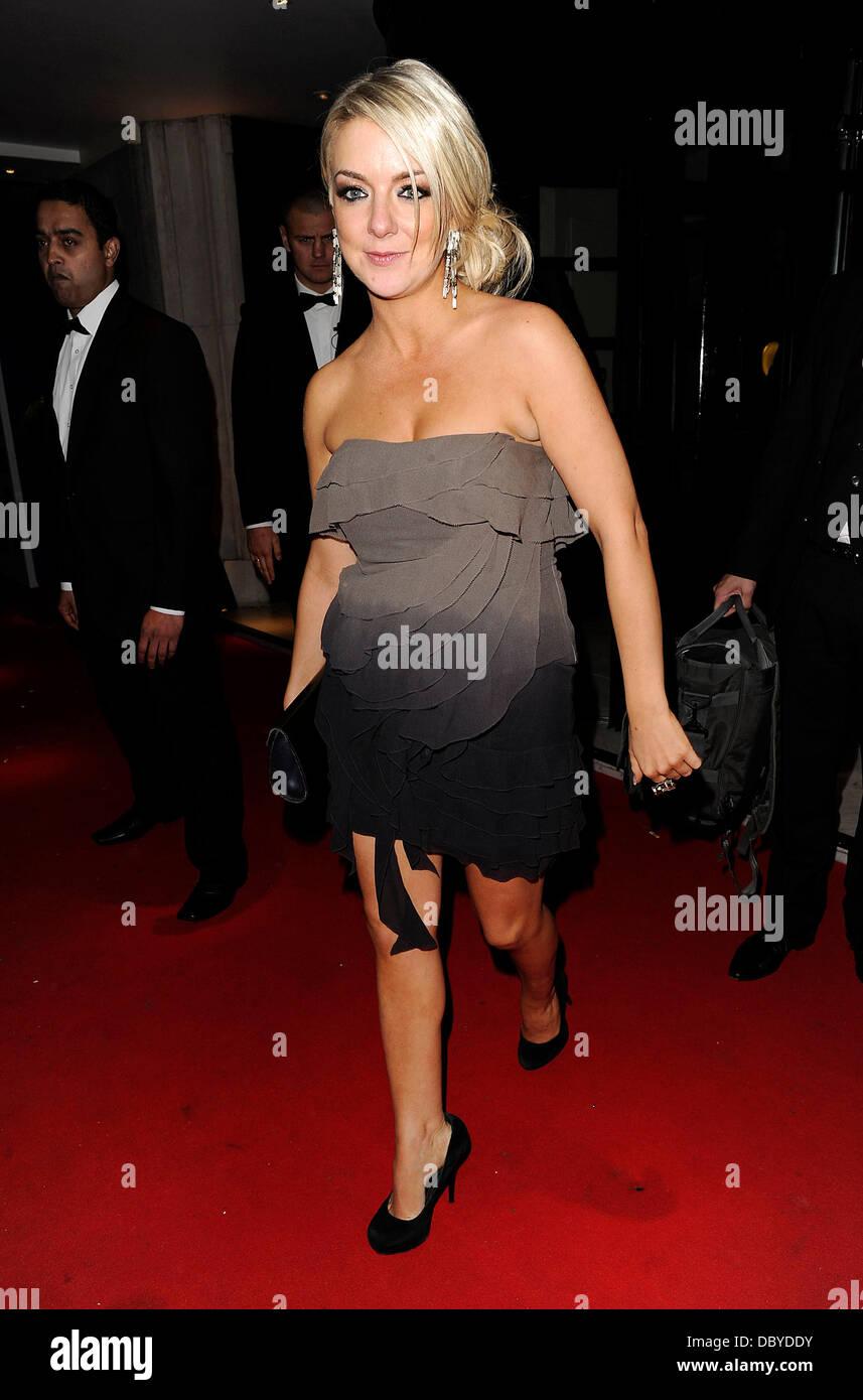 Actress Sheridan Smith Leaving The Tv Choice Awards London England Stock Photo Alamy
