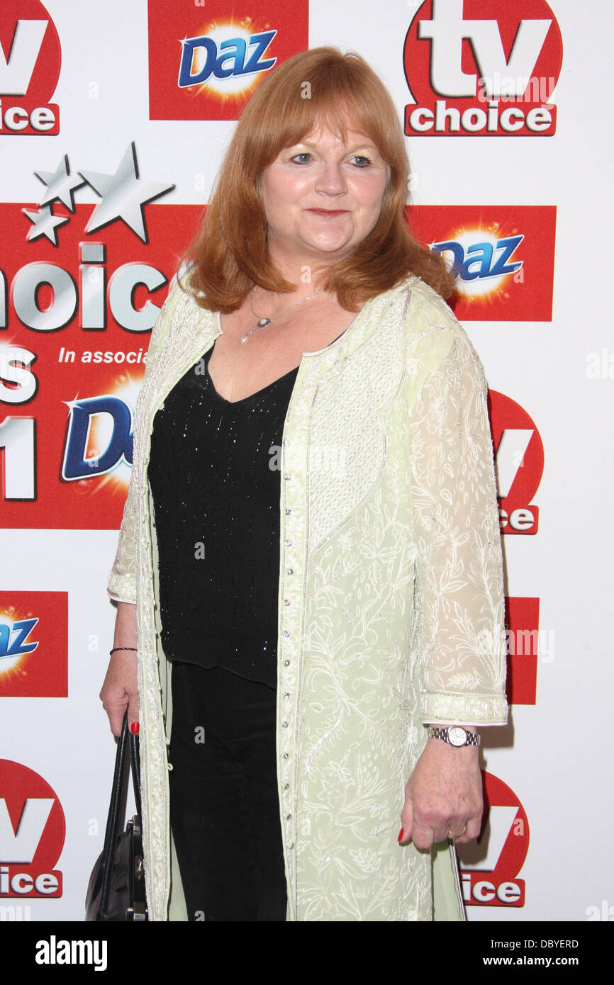 Lesley Nicol TVChoice Awards 2011 held at the Savoy hotel London, England - 13.09.11 - Stock Image