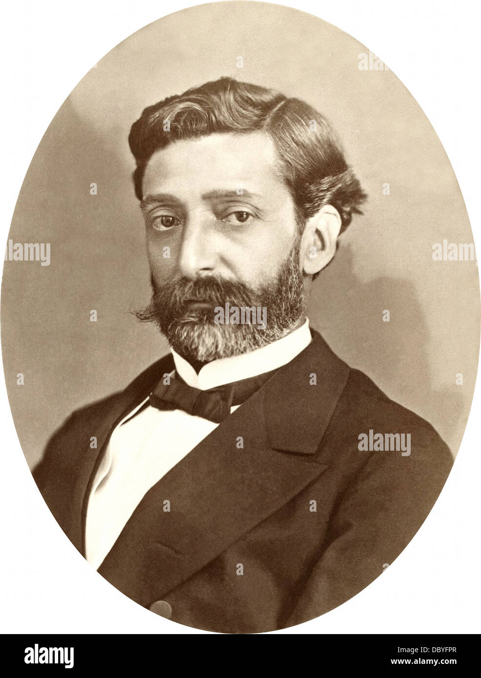 François Édouard Raynal (1830 - 1895 or 98), french navigator, explorer and writer. - Stock Image