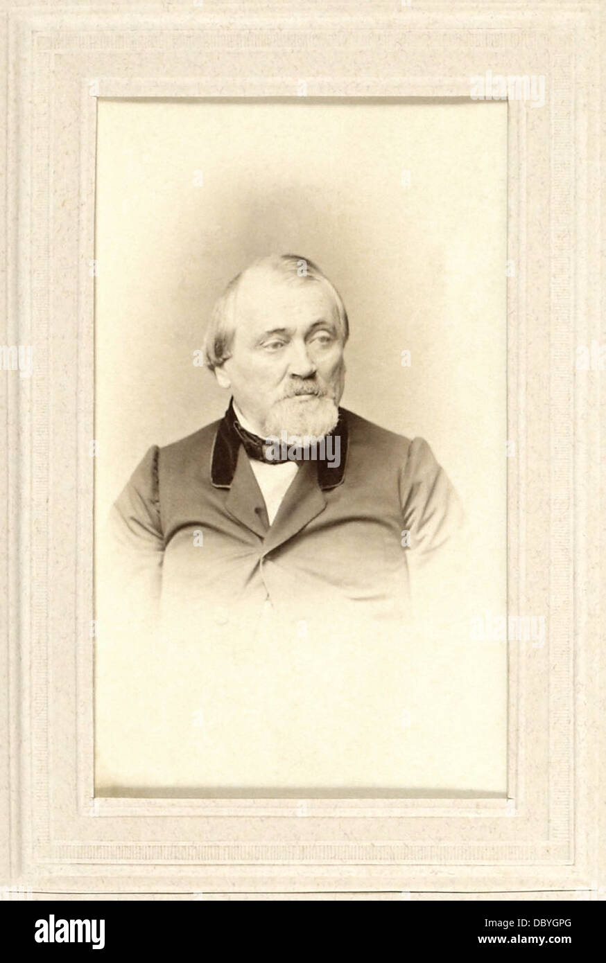 Franz Hermann Schulze-Delitzsch (1808 - 1883), German economist, jurist, and freemason. He was responsible for the - Stock Image