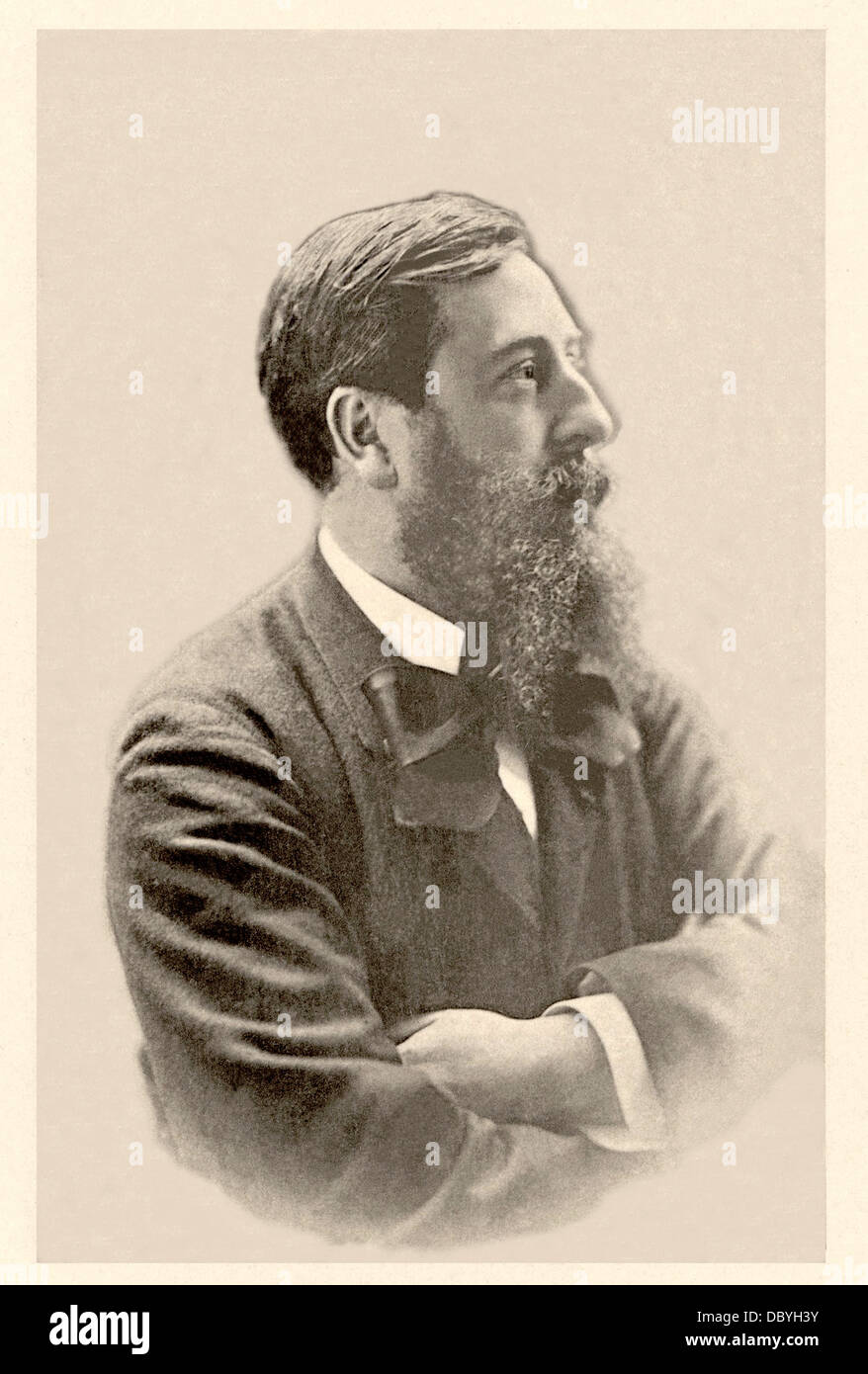 Léo Delibes (1836-1891), french composer. - Stock Image