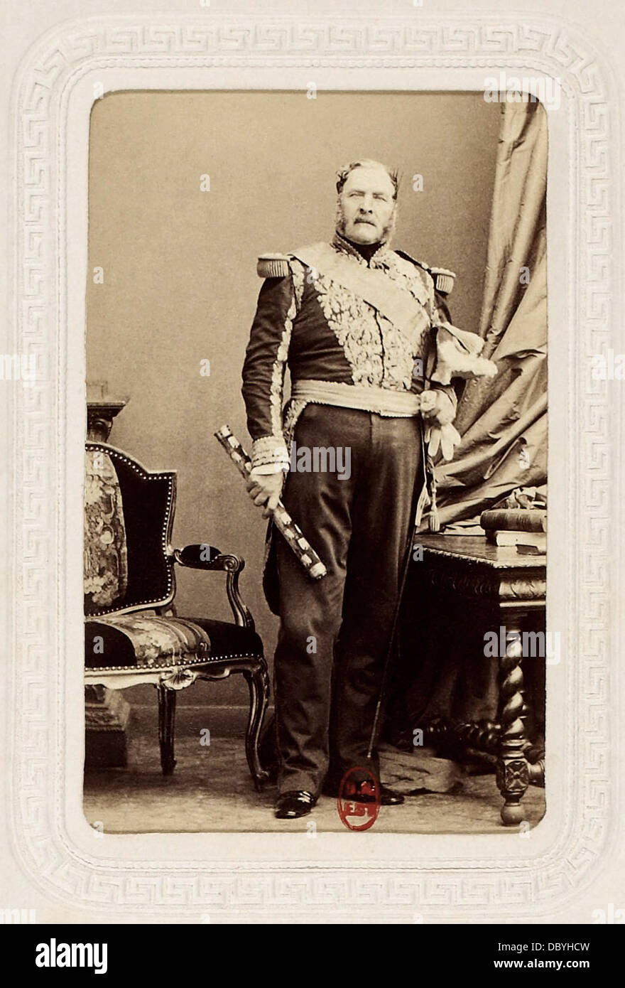 Bernard Pierre Magnan, (1791-1865), Marshal of France. - Stock Image