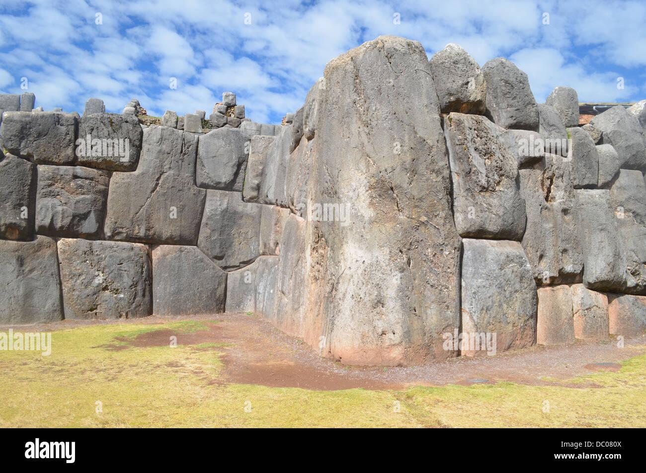 inca ruins sacsayhuaman near cusco stock photos inca. Black Bedroom Furniture Sets. Home Design Ideas