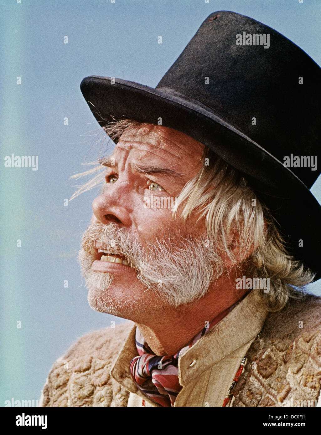 1960s 1969 MUSICAL WESTERN FILM PAINT YOUR WAGON  ACTOR LEE MARVIN - Stock Image