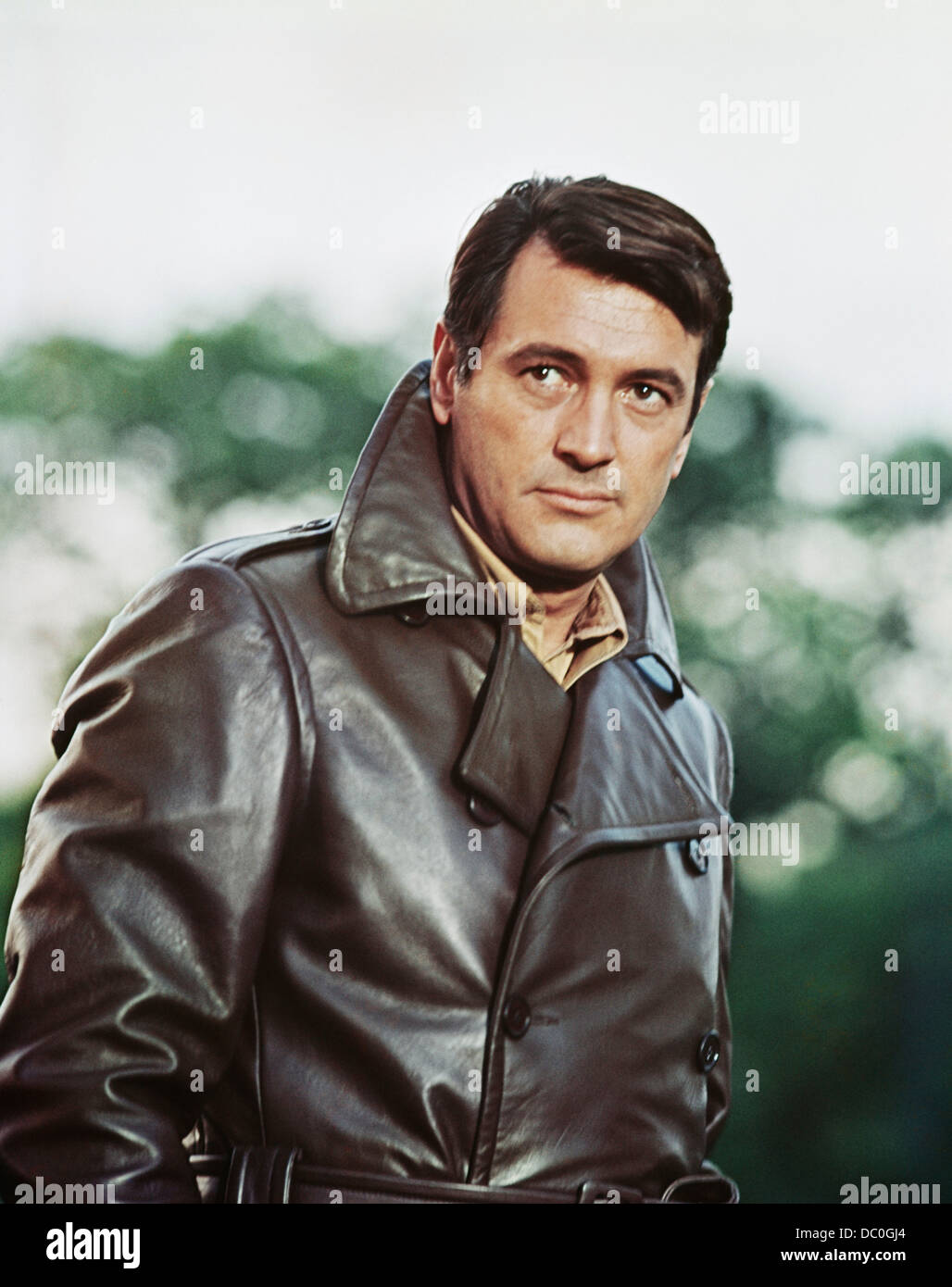 1970s 1970 MUSICAL SPY FILM DARLING LILI STARRING ROCK HUDSON AS WORLD WAR ONE PILOT - Stock Image