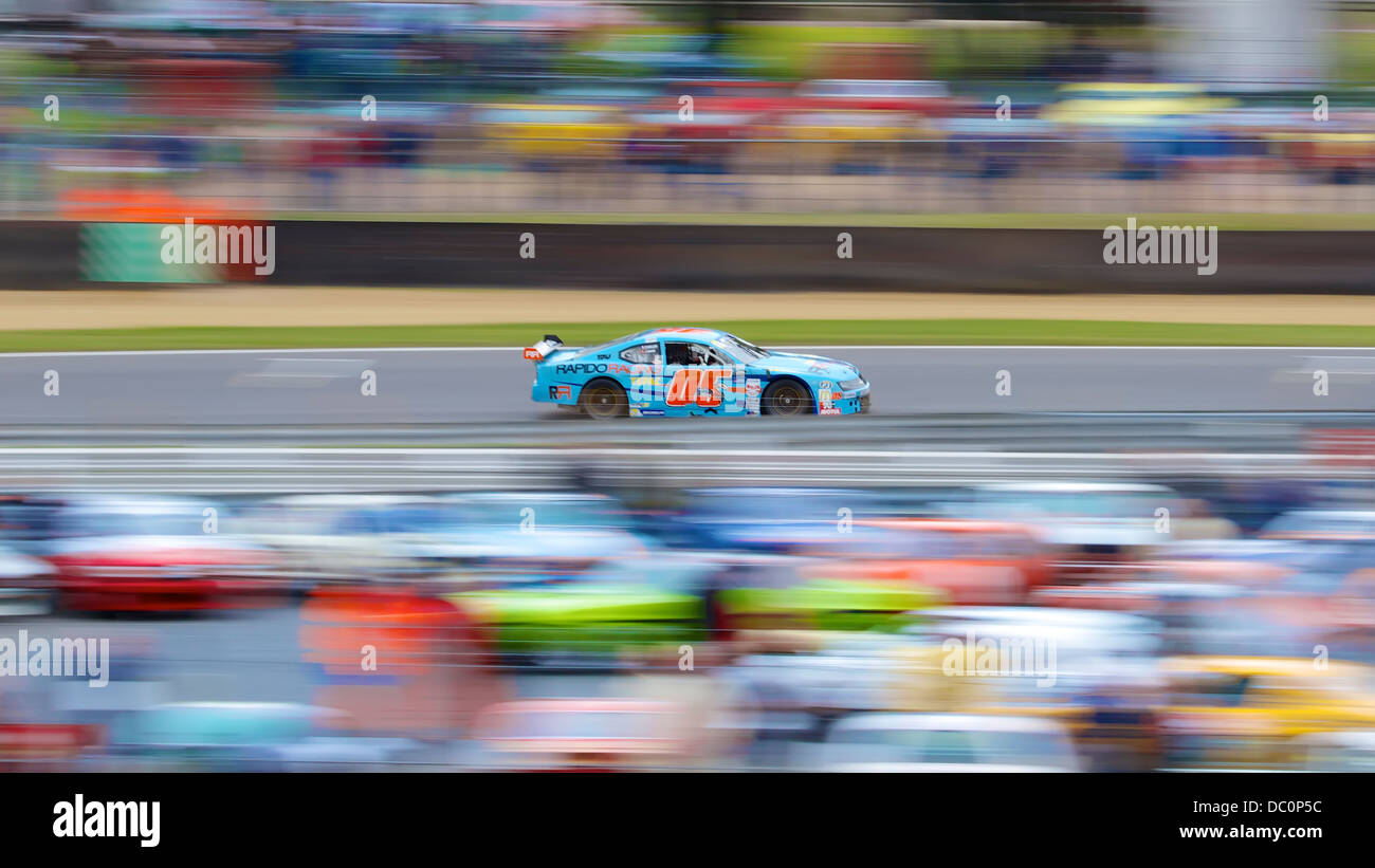 Euro NASCAR at Brands Hatch - Stock Image