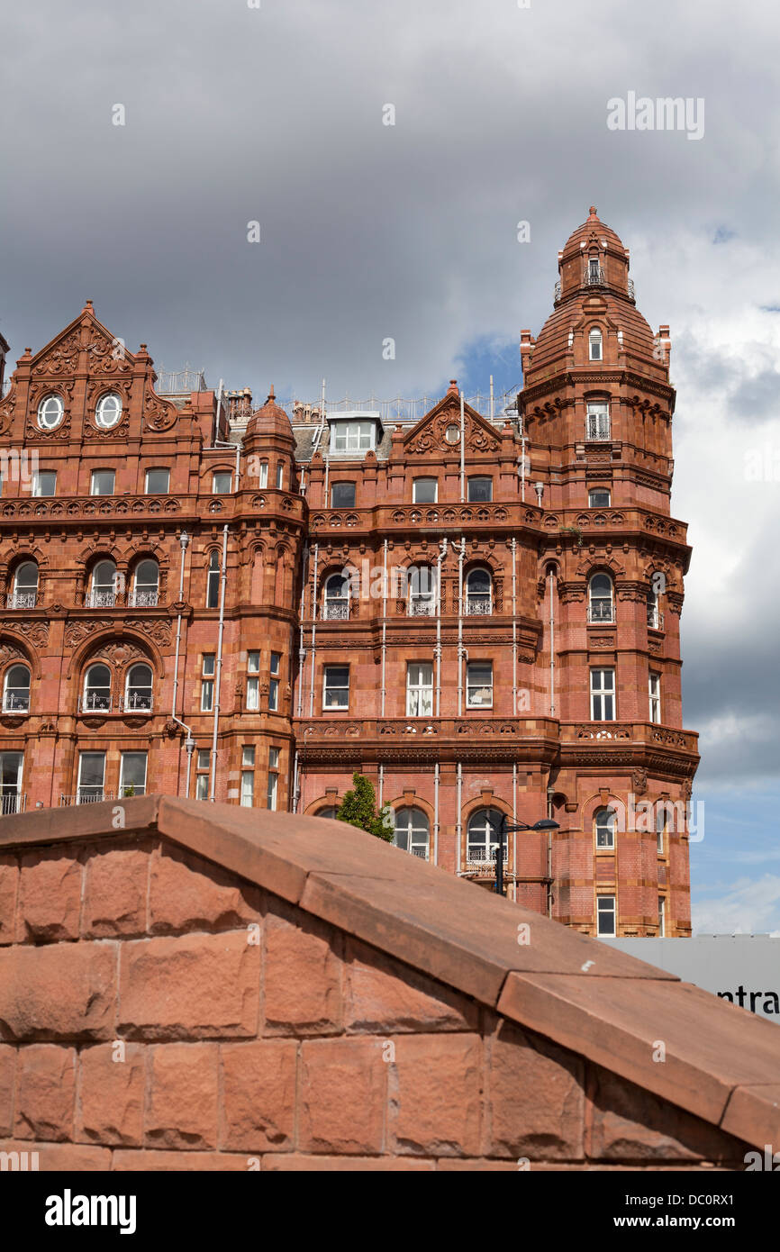 The Midland Hotel Manchester. - Stock Image