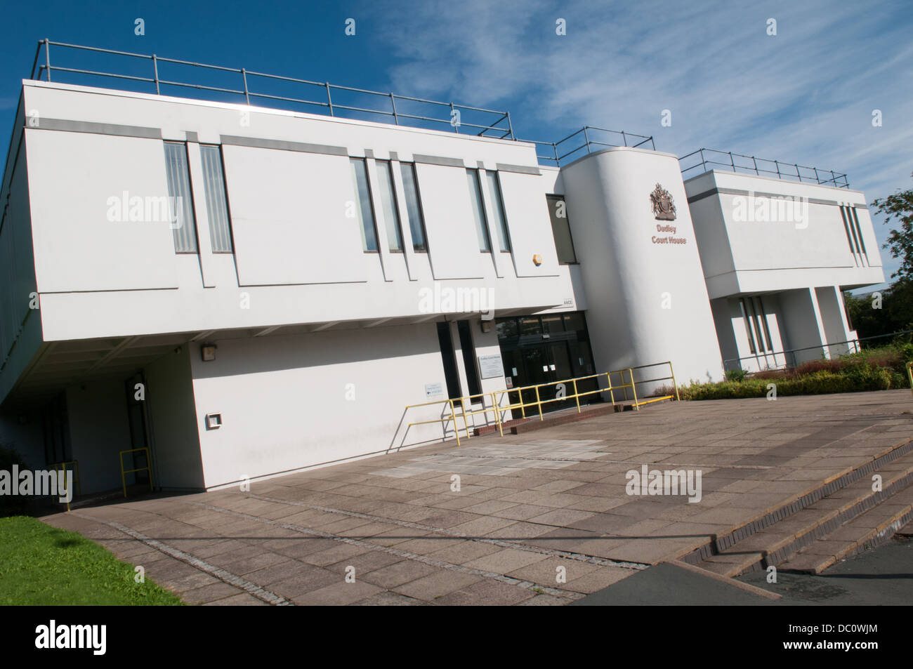 Dudley Magistrates' Court which may lose criminal cases in a Ministry of Justice restructure of services - Stock Image