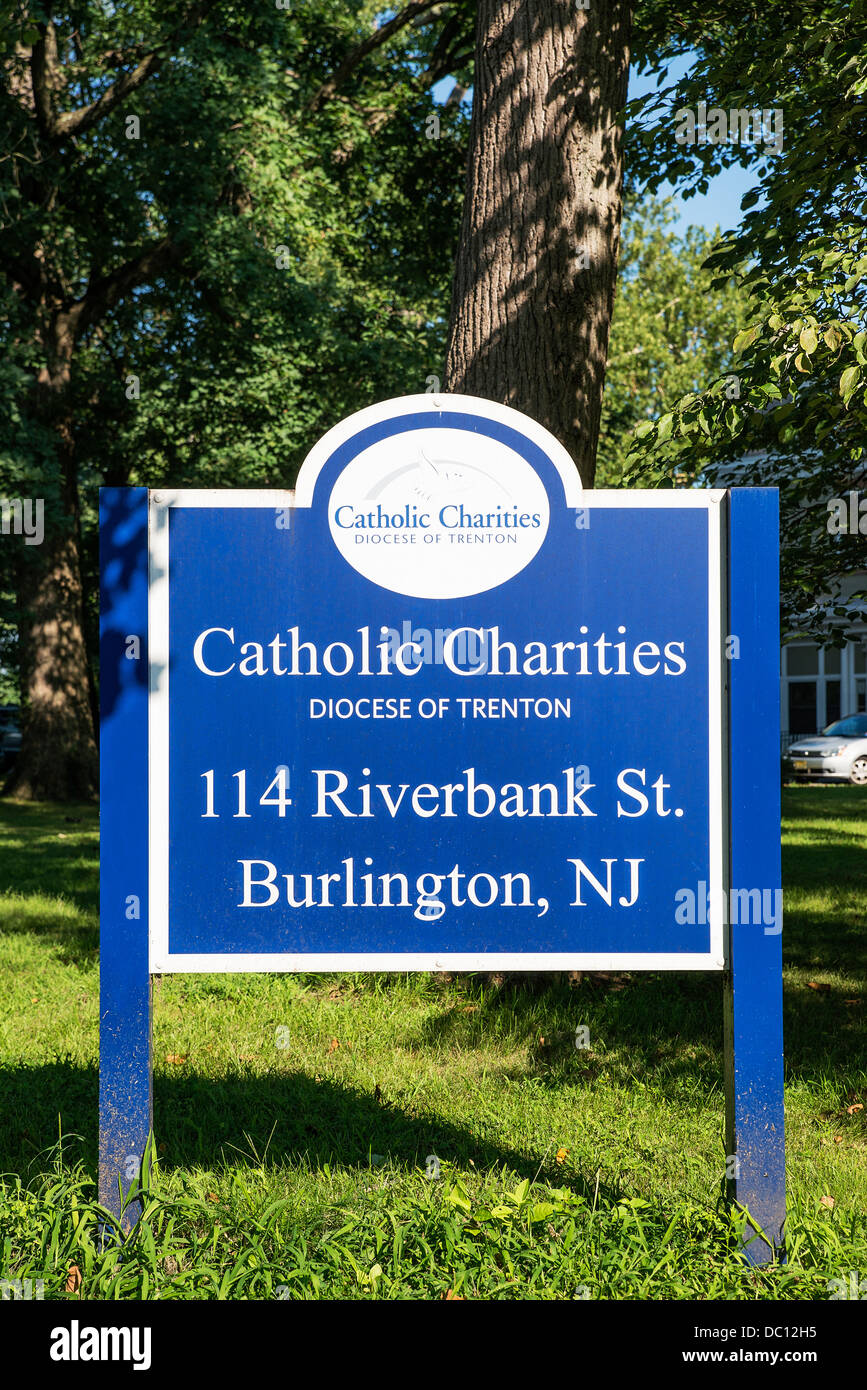 Catholic Charities Agency, Diocese Trenton, Burlington, New Jersey, USA Stock Photo
