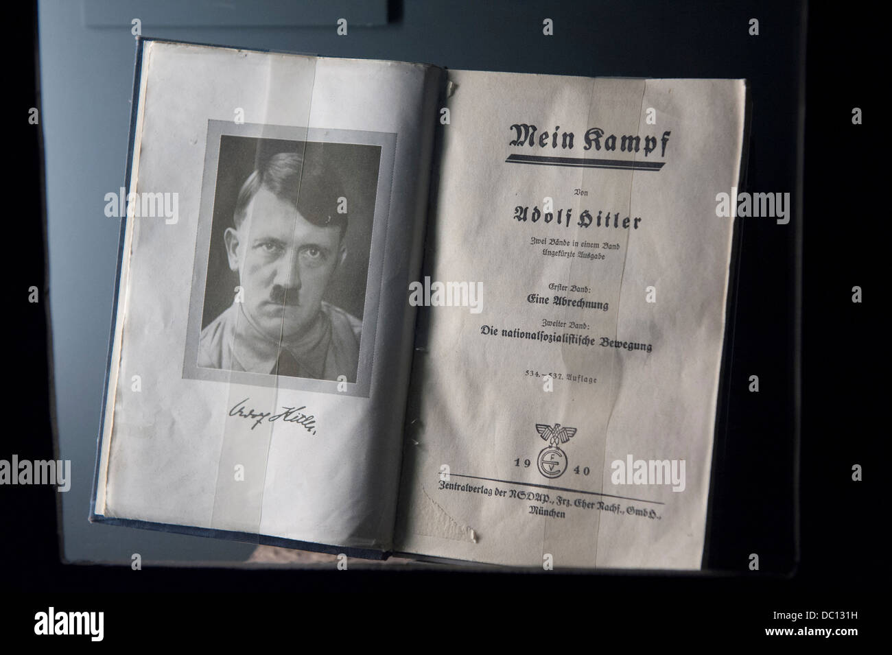 Europe, Germany, Bavaria, Nuremberg, Mein Kampf, Documentation Center. - Stock Image