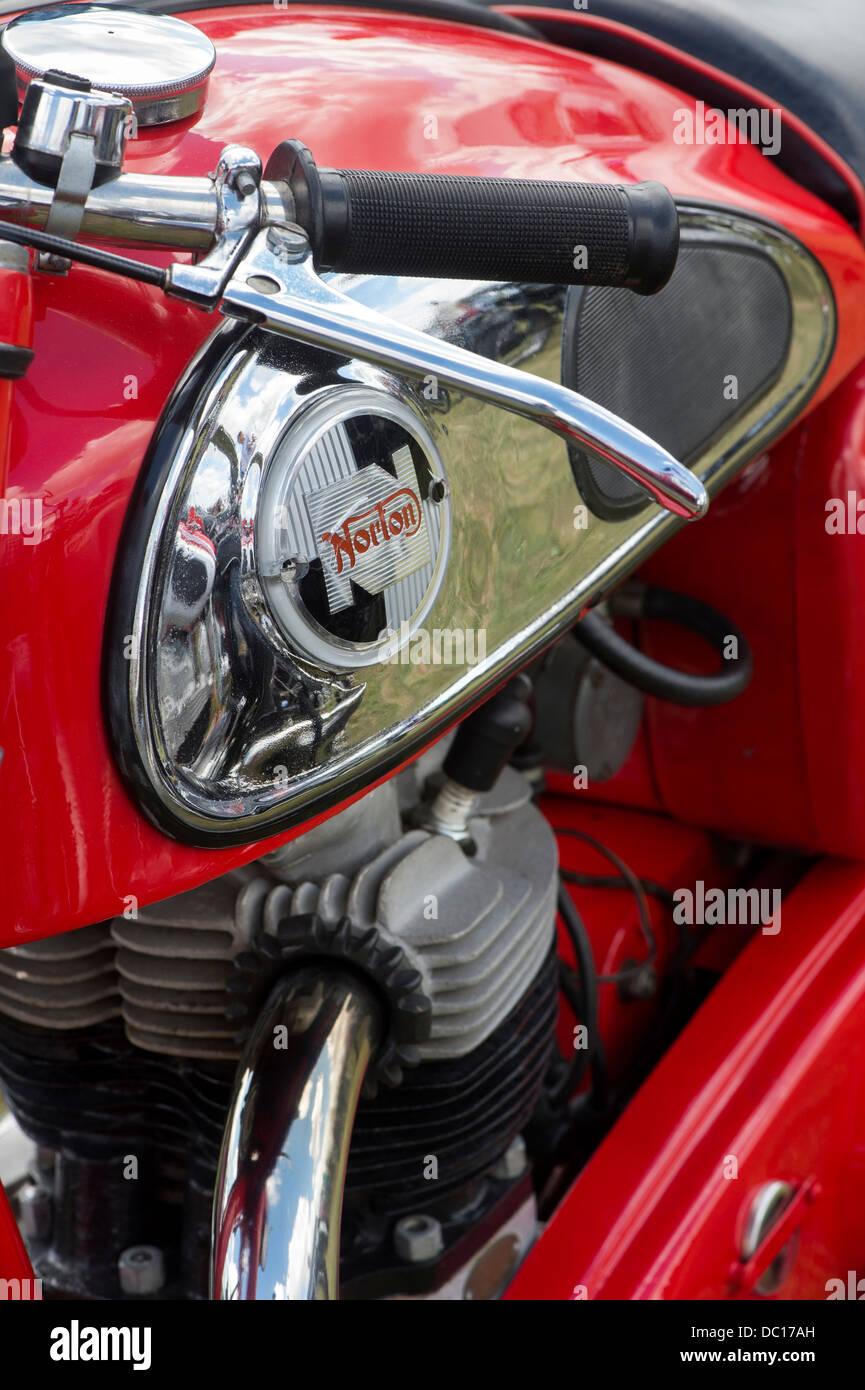 1958 Norton 99 Dominator  Classic british motorcycle Stock Photo