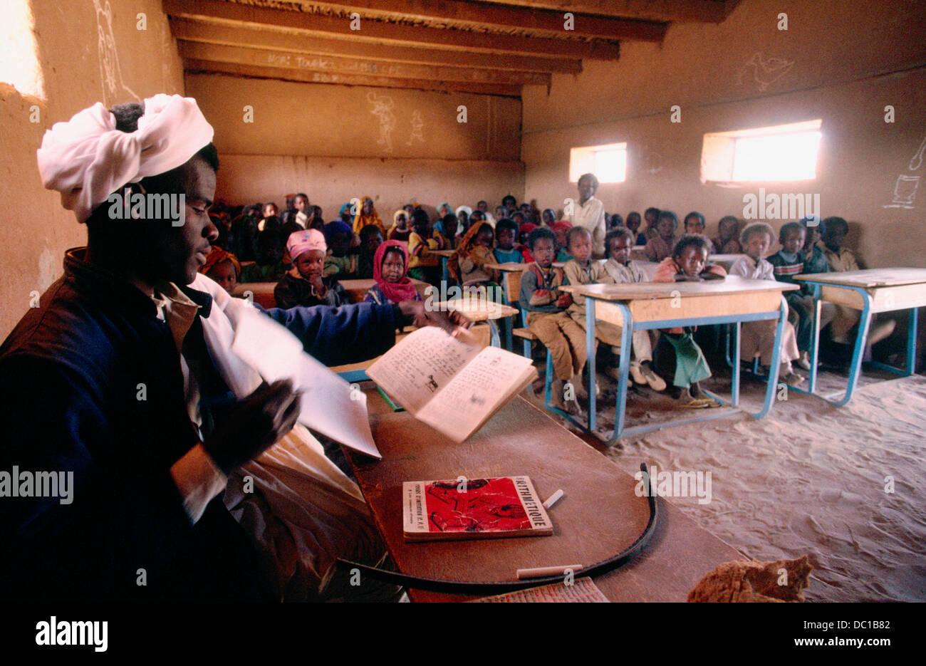 School. Tchad - Stock Image
