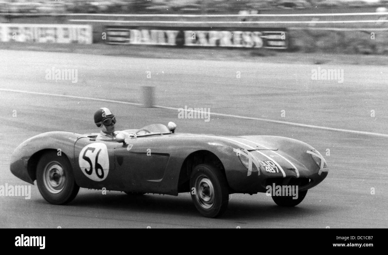 Buckler-Ford M Fielden-Silverstone 03 June 1961 Stock Photo