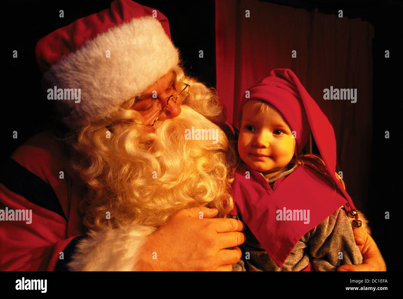 Santa Claus. Rovaniemi. Finland - Stock Image