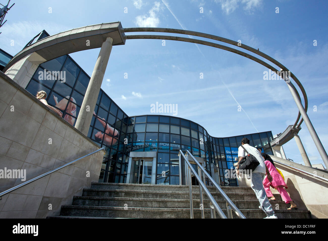 Ponds Forge Sheffield - Stock Image