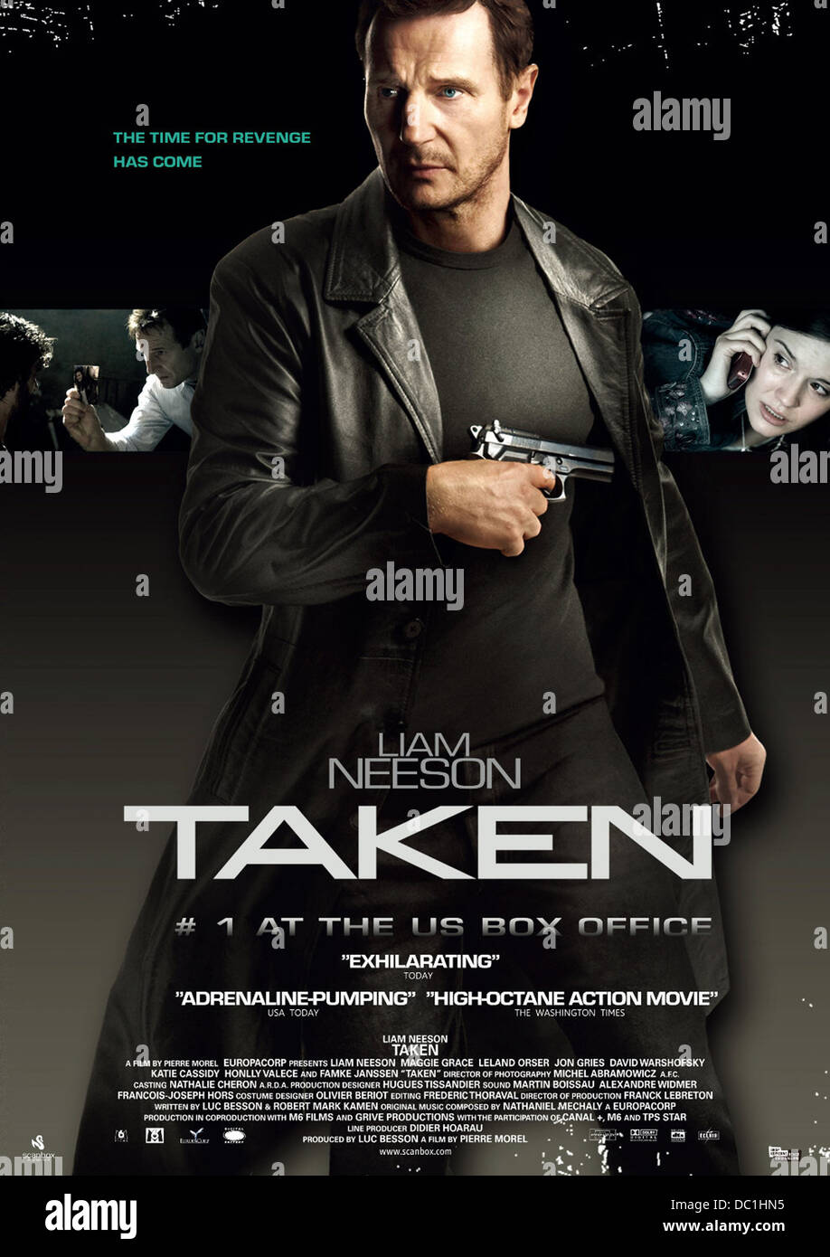Taken 2008 Liam Neeson Pierre Morel Dir 001 Moviestore Collection Stock Photo Alamy