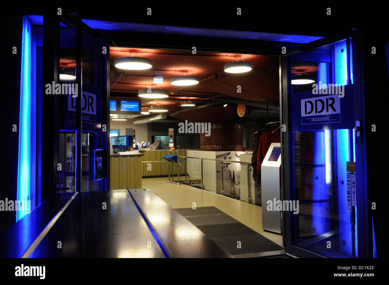 DDR Museum, Berlin, Germany. - Stock Image