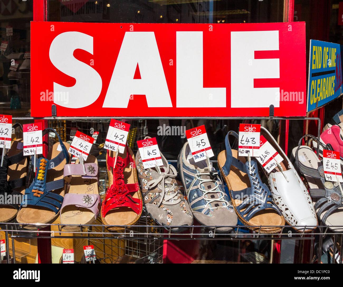 sale sign, Devon, England Stock Photo