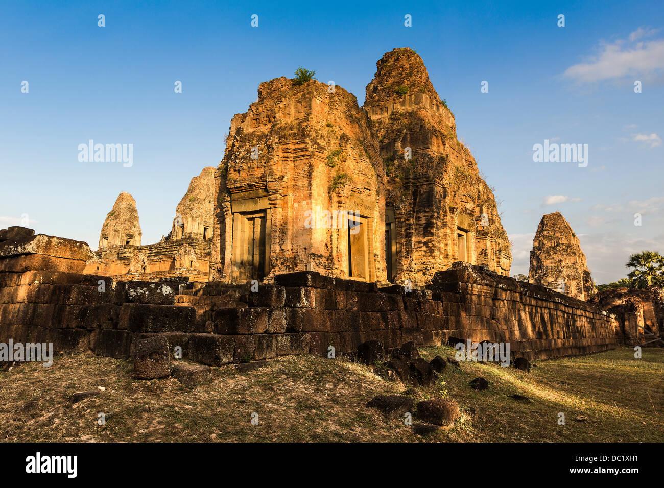 Pre Rup ruins at Angkor Wat, Siem Reap, Cambodia - Stock Image