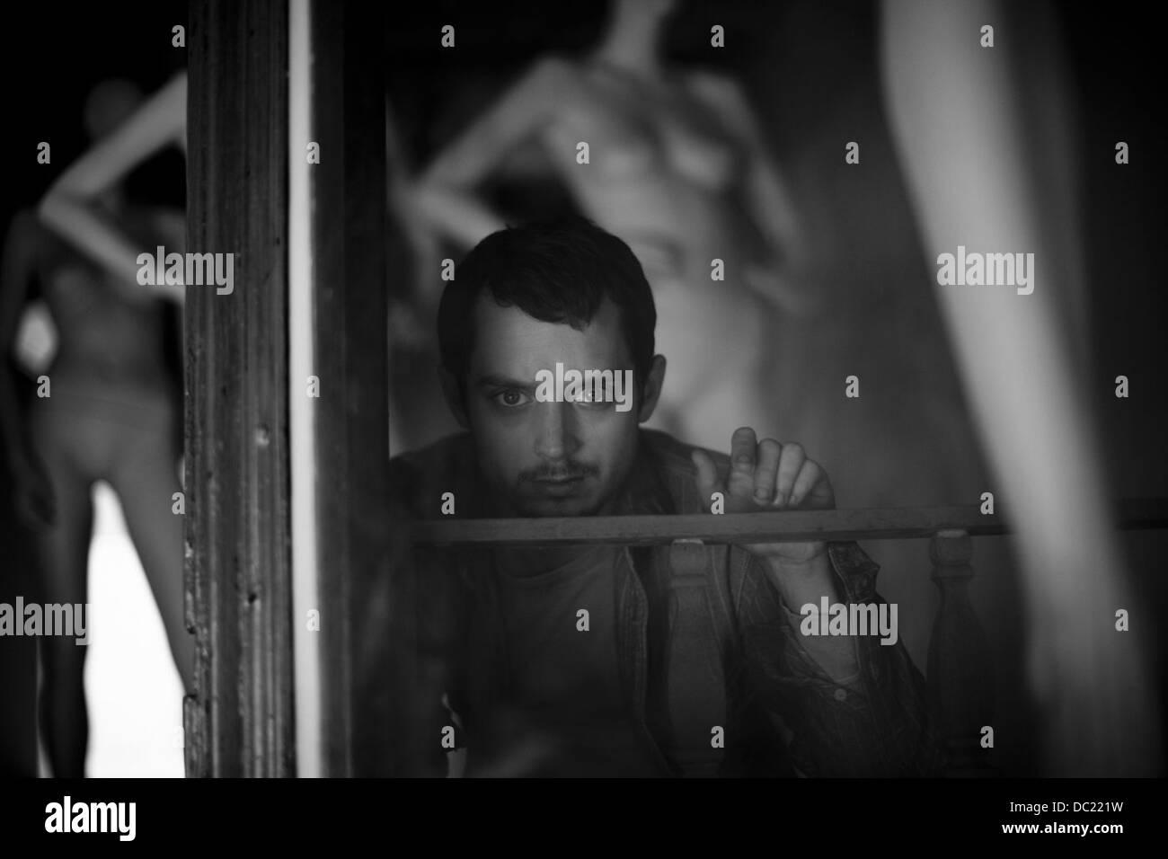 MANIAC (2012) ELIJAH WOOD, FRANCK KHALFOUN (DIR) 008 MOVIESTORE COLLECTION LTD - Stock Image