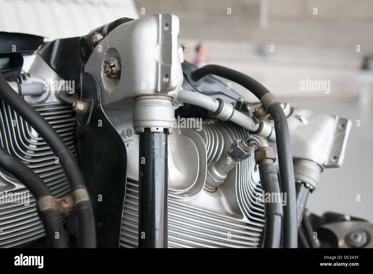 Pratt and Whitney R-1830 Twin Wasp aero engine  One of the
