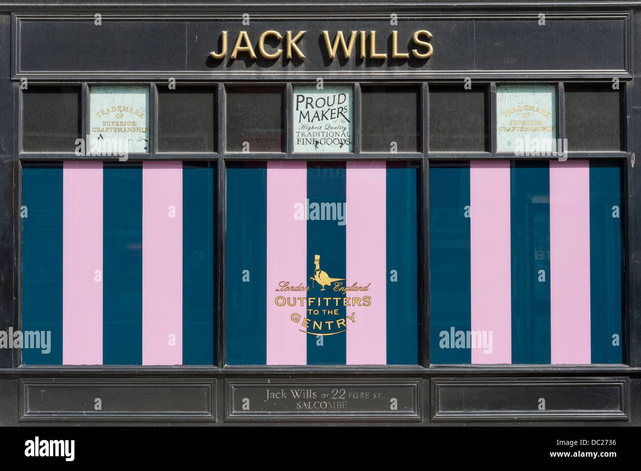 Jack Wills Shop Richmond Upon Thames Surrey London UK - Stock Image