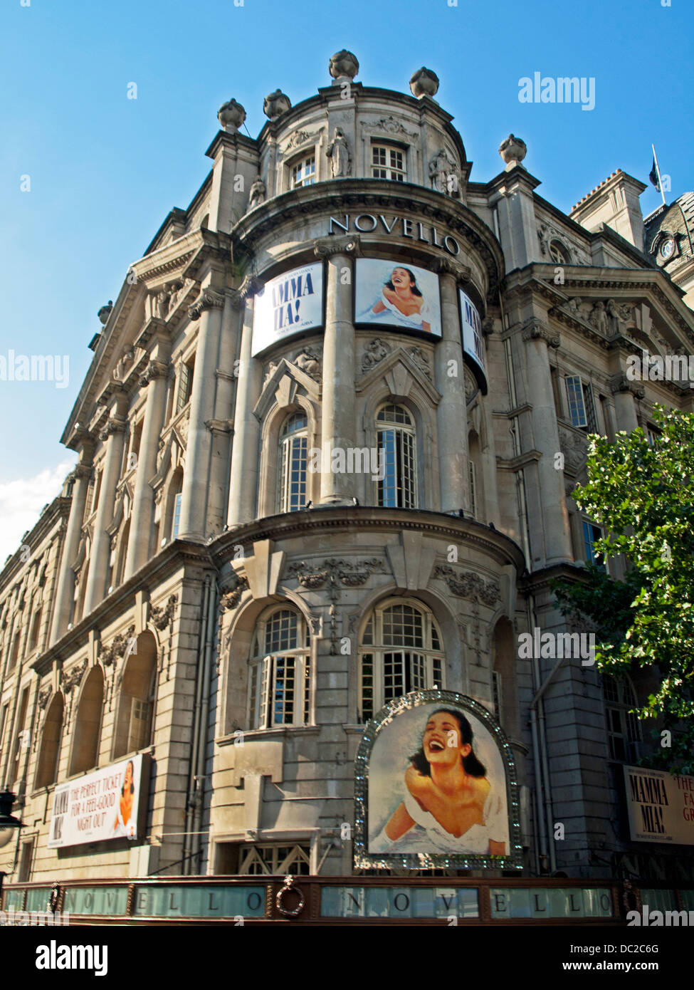 Facade Of The Novello Theatre Is A West End On Aldwych City Westminster