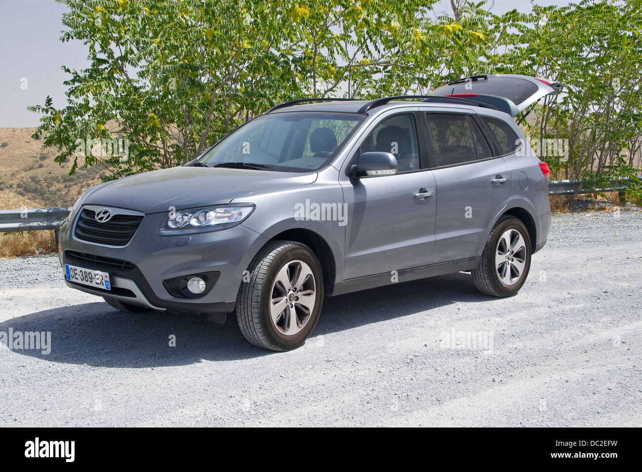 Hyundai 'Santa Fe' DM in vivo - Stock Image