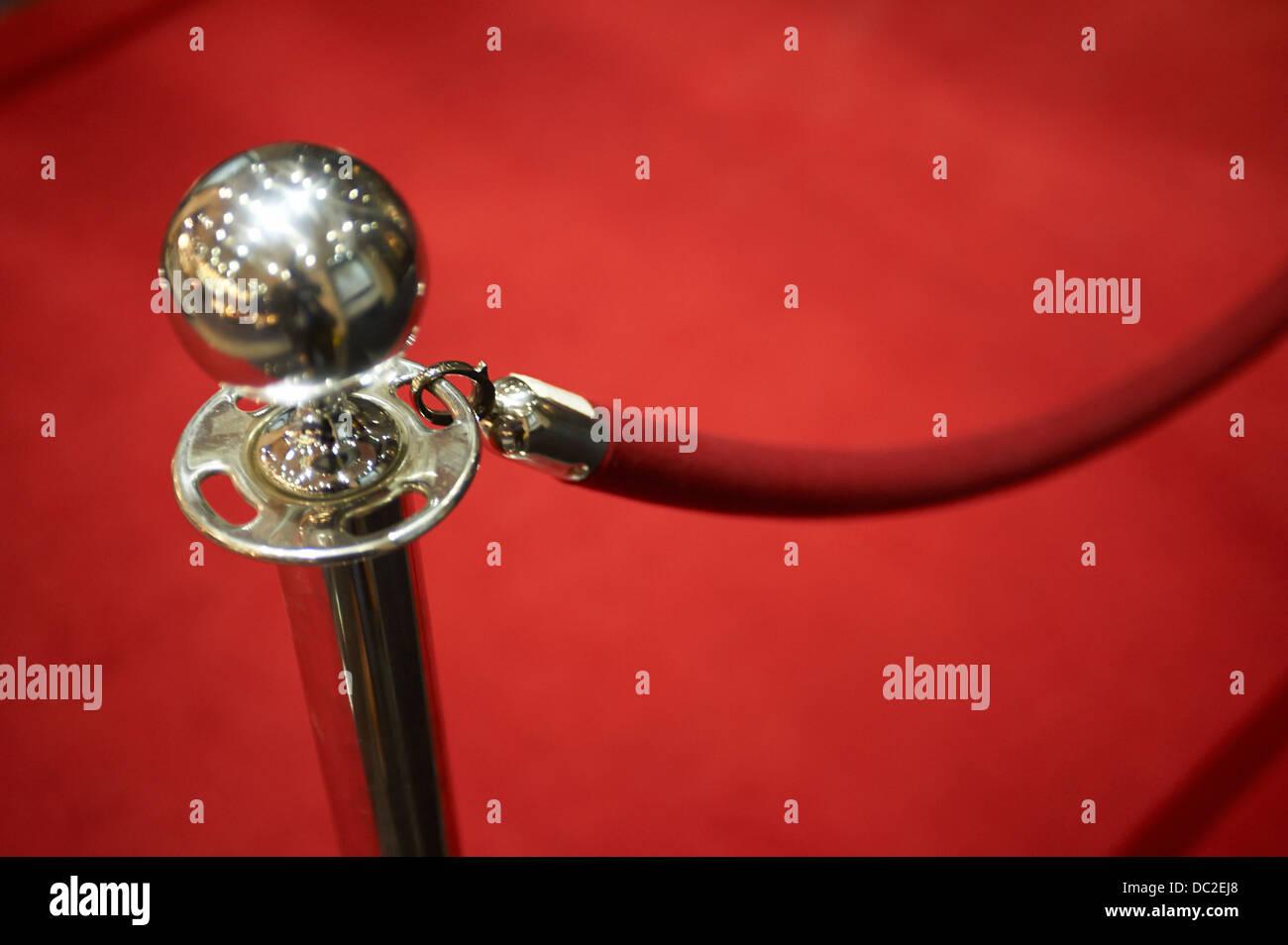 red carpet - Stock Image