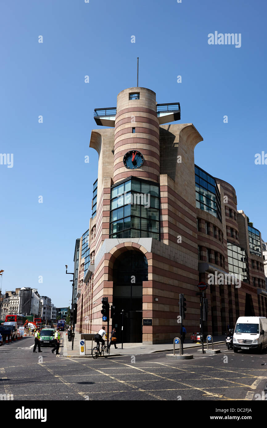No 1 Poultry building london england uk - Stock Image