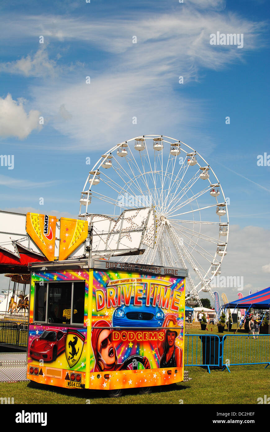 Big wheel at Silverstone - Stock Image