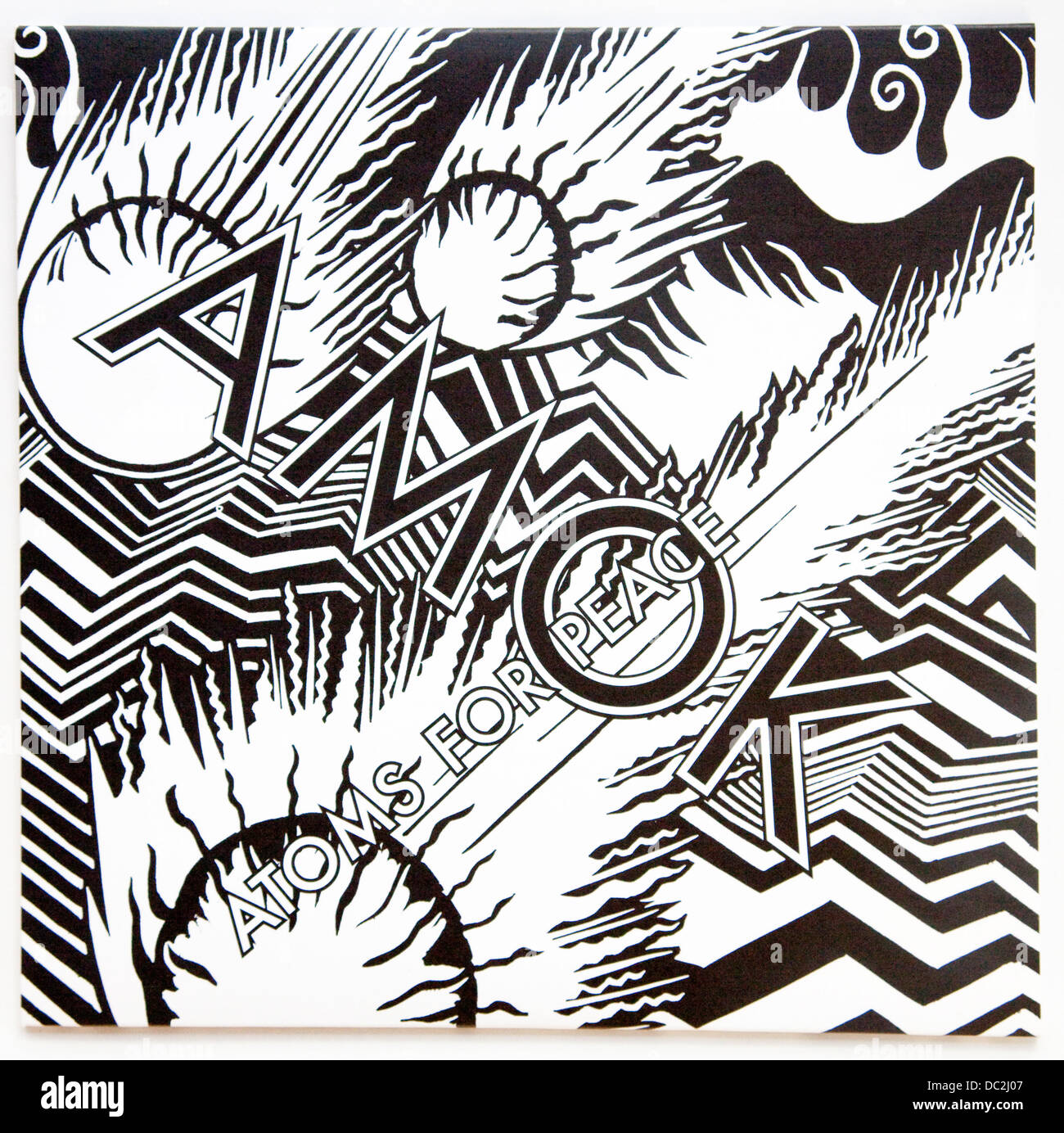 Atoms For Peace - Amok, 2013 album on XL Recordings - Stock Image
