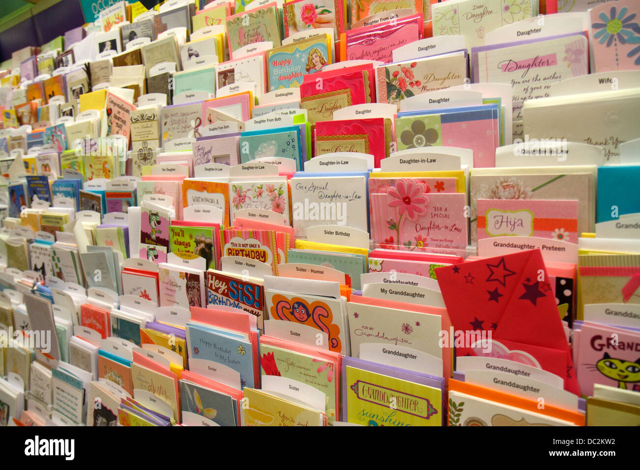 Greeting cards store stock photos greeting cards store stock florida weston fort ft lauderdale publix grocery store supermarket shopping retail display sale greeting cards m4hsunfo