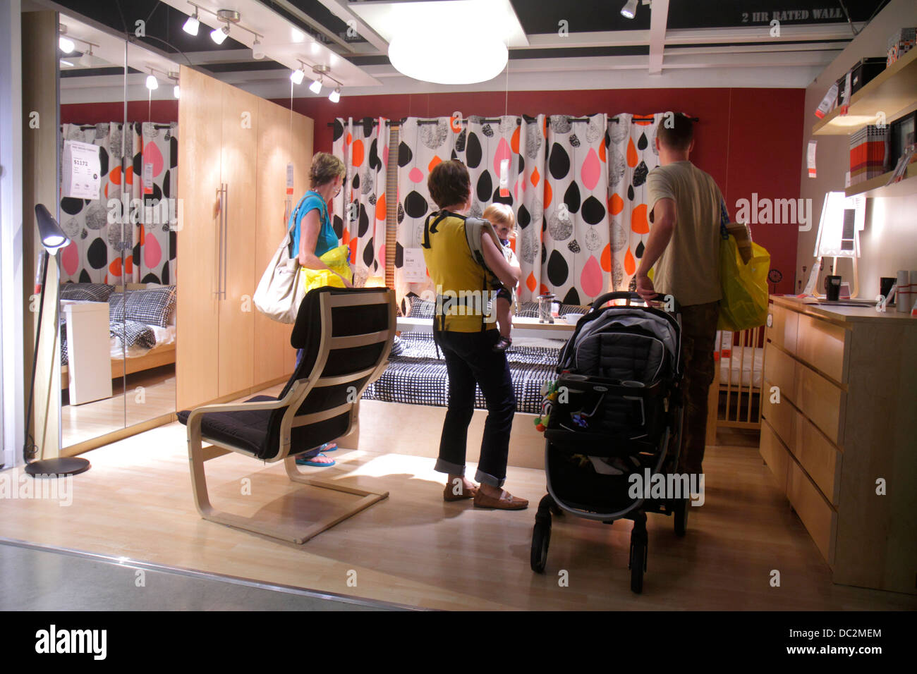 Shopping For Kids Bedroom Furniture High Resolution Stock Photography And Images Alamy