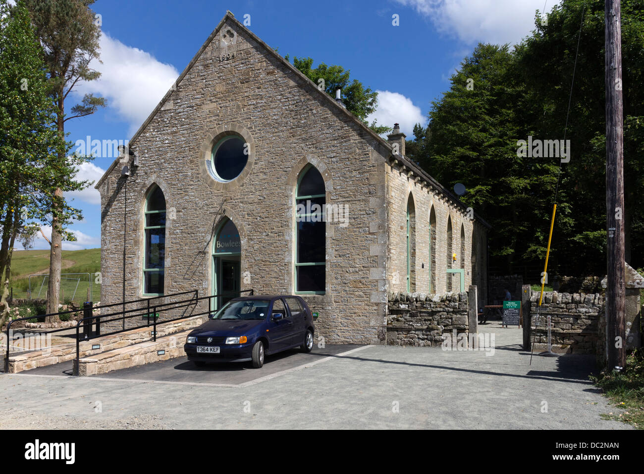 The Bowlees Visitor Centre in Upper Teesdale County Durham UK - Stock Image