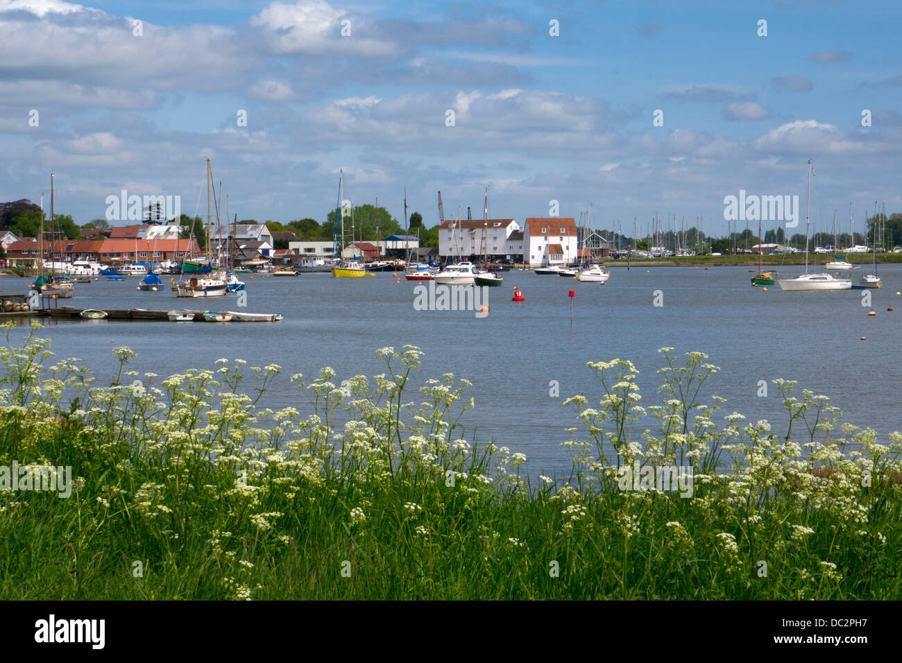 Woodbridge, River Deben, Suffolk, East Anglia, England - Stock Image
