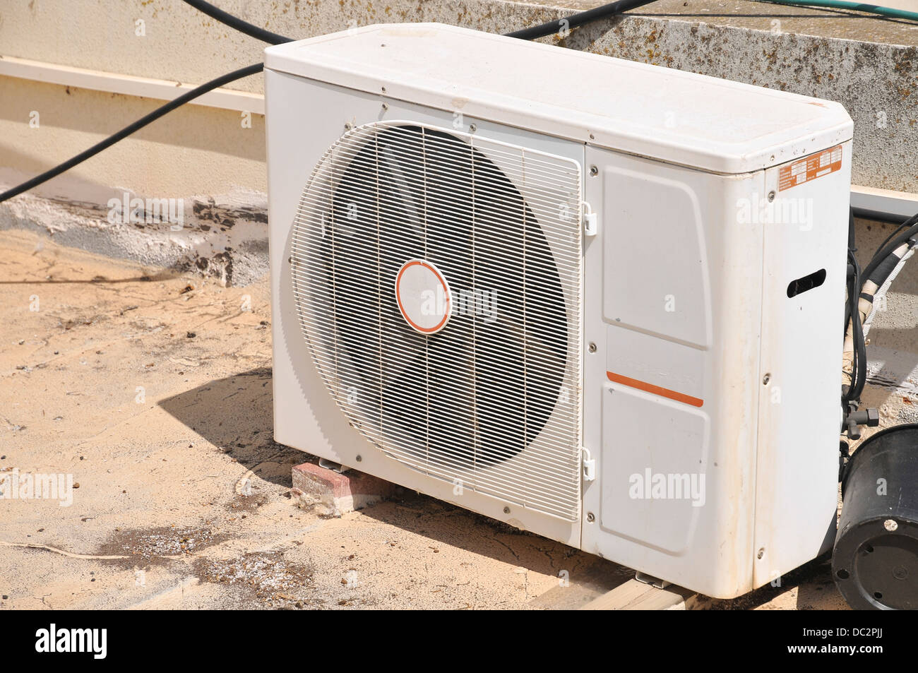 Air Conditioner Outer Unit - Stock Image