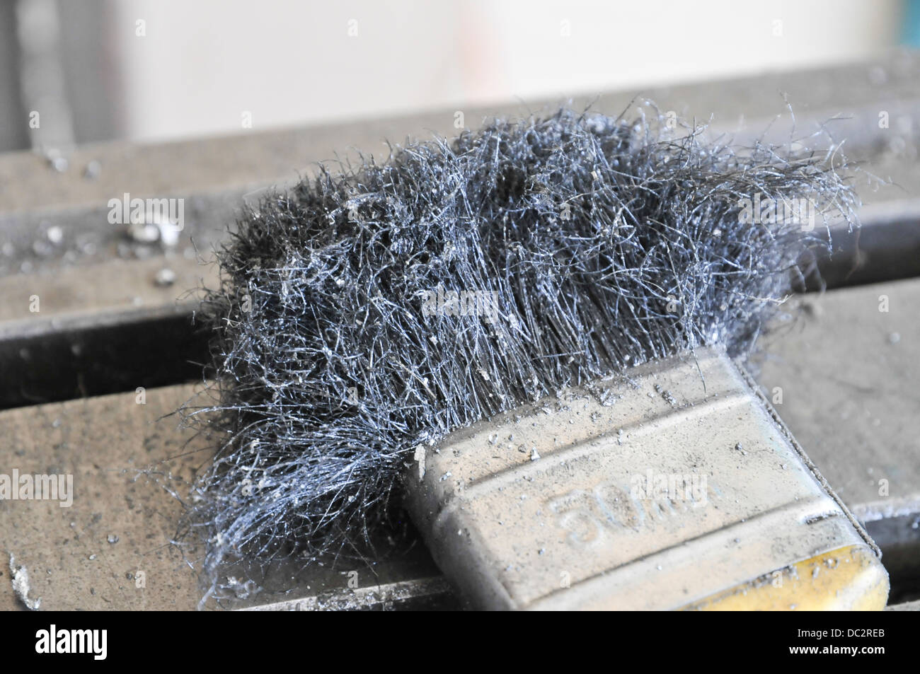 Steel Wire Brush Tool Stock Photos & Steel Wire Brush Tool Stock ...