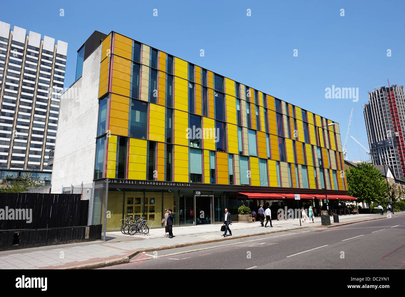 coin street neighbourhood centre London England UK - Stock Image
