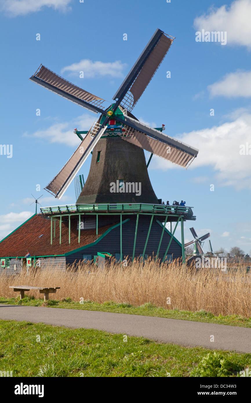 Europe,Netherlands,North Holland, Zaandam,Zaanse Schans, - Stock Image