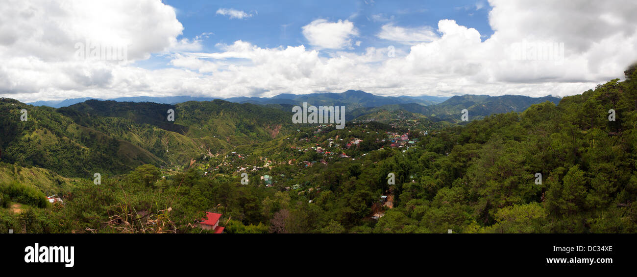 Cordillera mountains of central Luzon Island, Philippines. - Stock Image