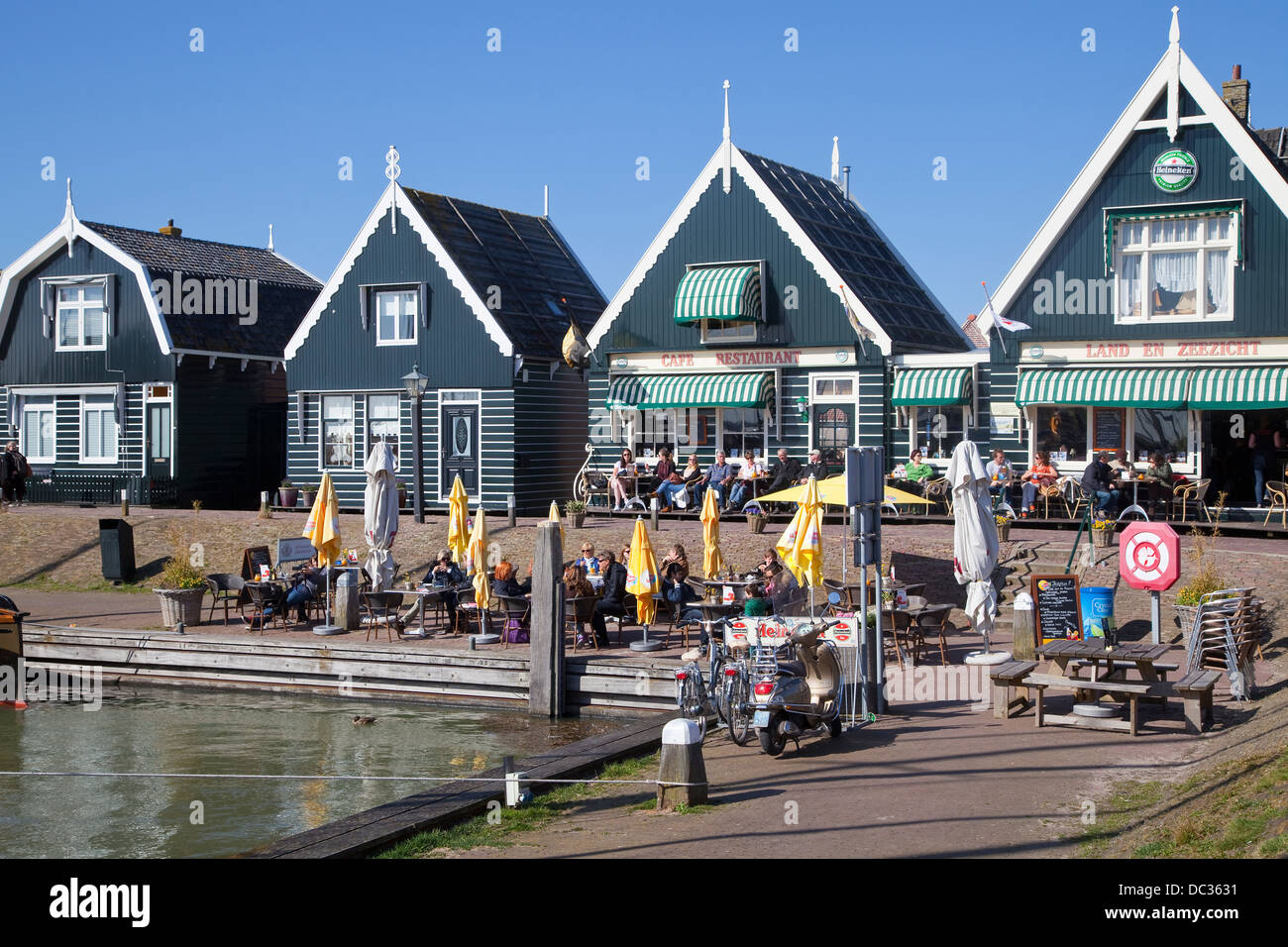 Europe, Netherlands,North Holland, Marken - Stock Image
