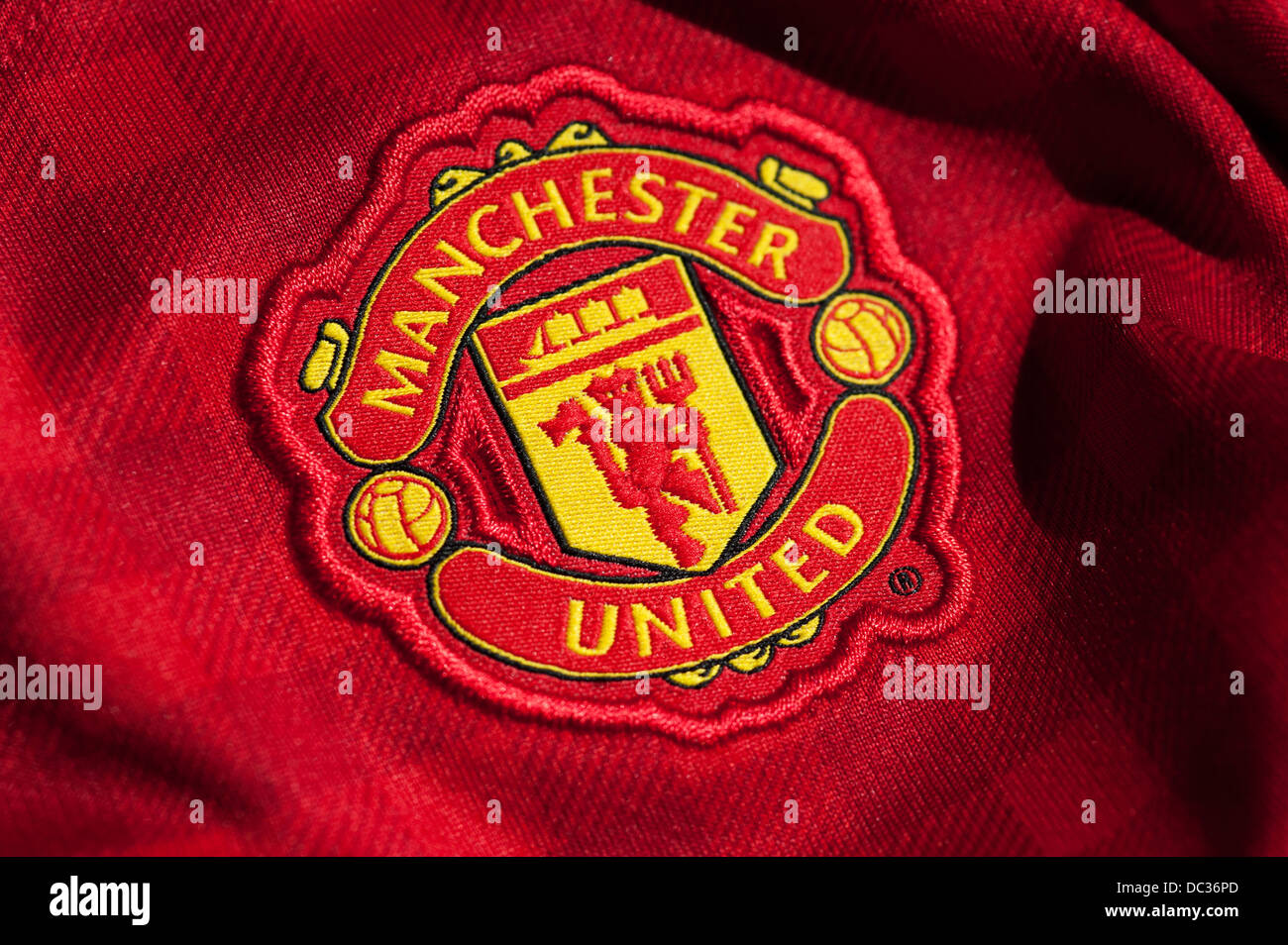 Manchester United Football Club Crest Stock Photo 59078165
