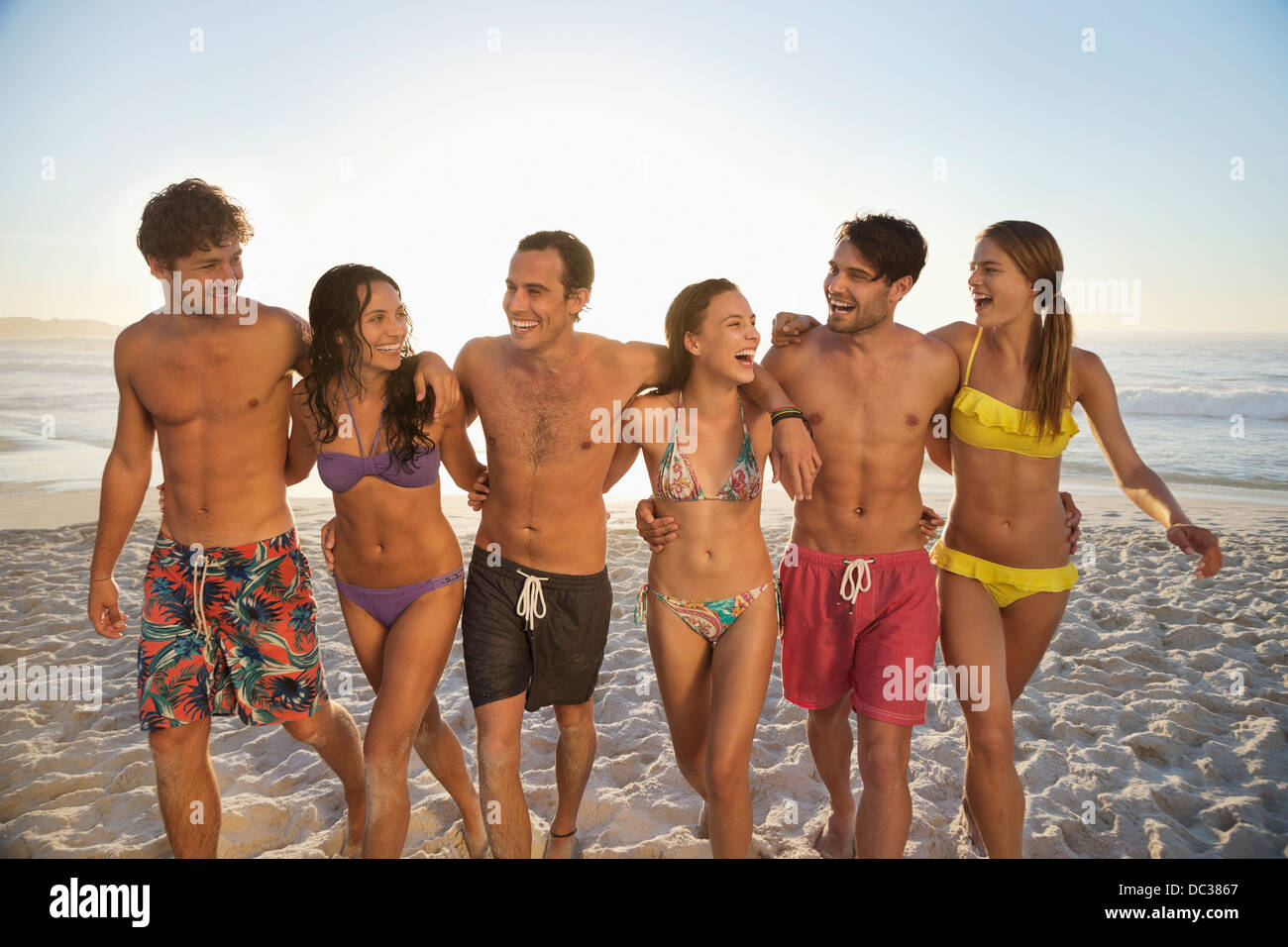 Beach fellows enjoyment