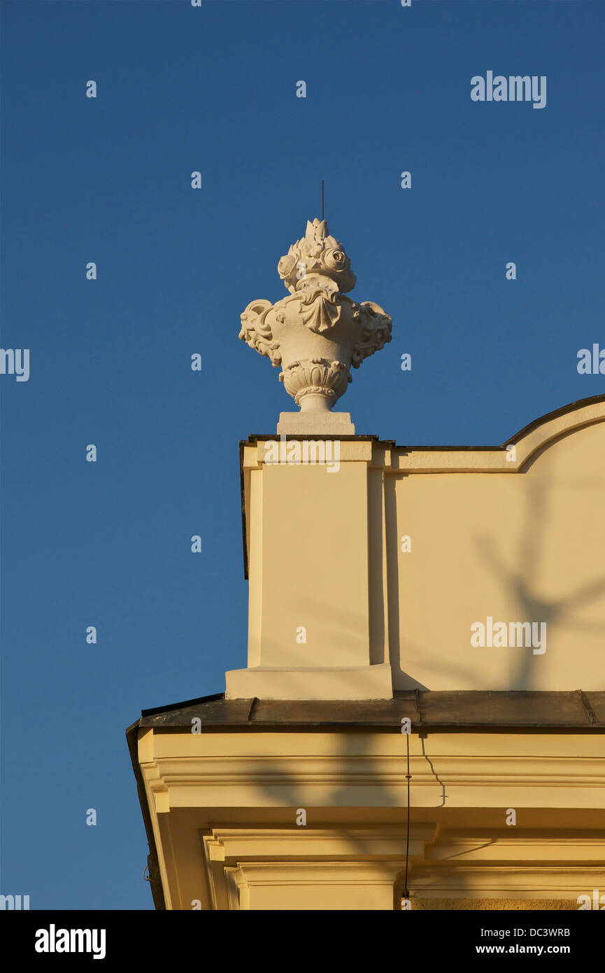 Element for the decoration of the roof of the Schönbrunn castle, Vienna, Austria. - Stock Image
