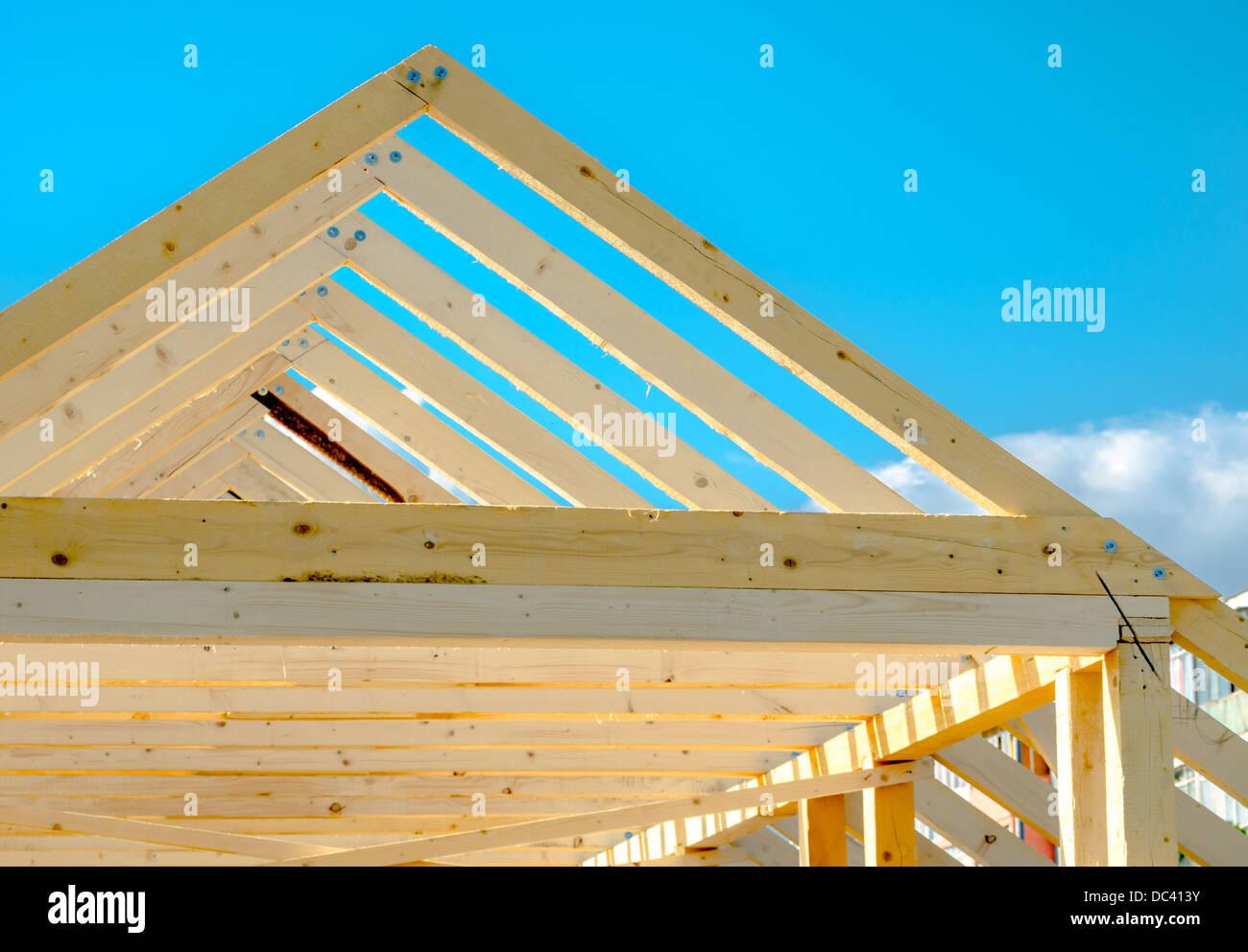 Timber Frame Construction Stock Photos & Timber Frame Construction ...