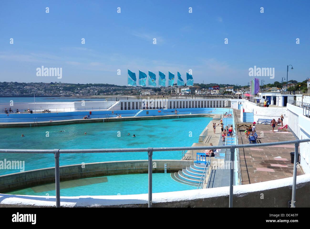 The Jubilee Pool In Penzance Cornwall Uk Stock Photo 59099699 Alamy